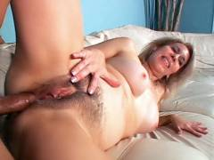 MILF With Hairy Poon Does Anal