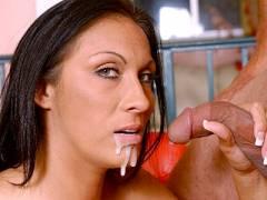Ebony Tera Hot Dick licking