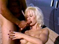 Dick juice Glazed Outdoor Sex