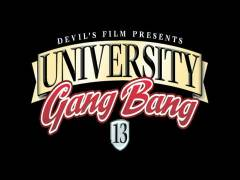 University Gang Screw 13