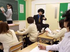 Eri Hoshikawa tricked into get into somebody's pantsing