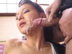 Yuki Tsukamoto moans while nailing shady men