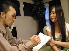 Slutty Japanese teen gets ramed so hard