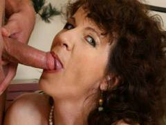 Horny MILF begs for more nailing